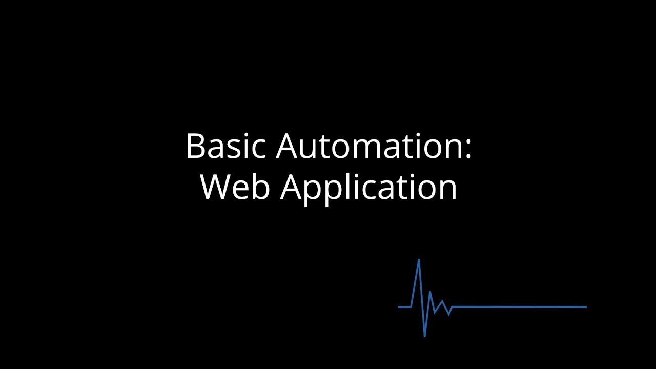 Tricentis Tosca: Basic Automation