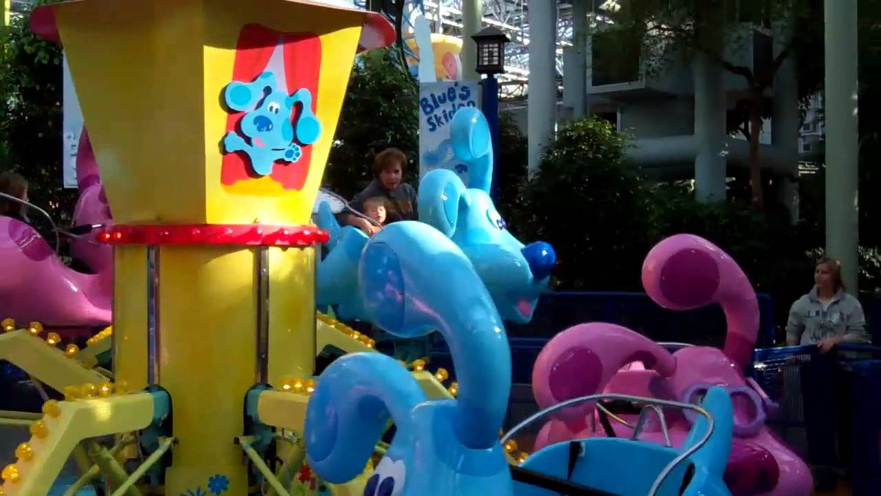 riding blues clues ride at moa with gma youtube
