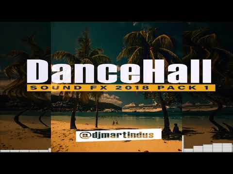 Dancehall 2018 SAMPLER Mix  PACK Sound Effects - DJ Tools