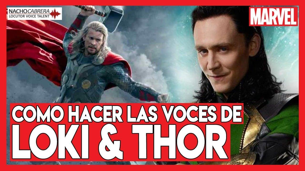 🔊 Cómo hacer las Voces de Loki y Thor