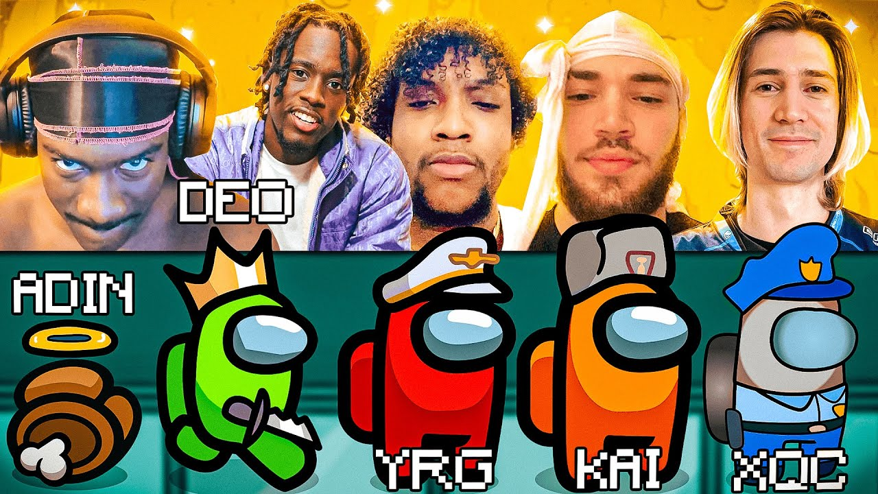 Download BruceDropEmOff Plays Among Us With xQc, Adin Ross, Yourrage, Kai Cenat & Others! *TOXIC*