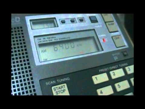Radio Pyongyang domestic service - 6400 kHz