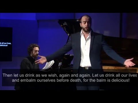 2015 Marilyn Horne Song Competition Winners