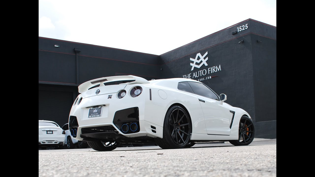 2013 Avorza Edition Nissan Gtr Done By Alex Vega At The