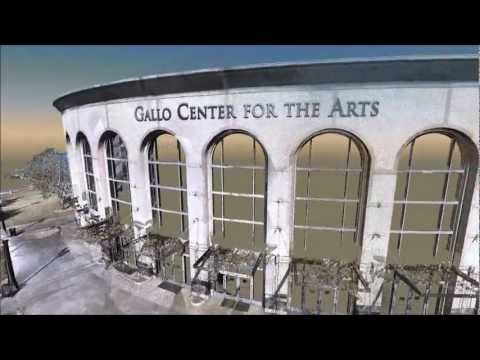 Gallo Center for the Arts - 3D Laser Scan