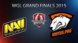 World of Tanks - Natus Vincere vs. Virtus.PRO - WGL Grand Finals 2015 - Quarterfinal