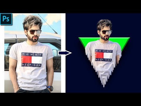 Triangle Pop Out Effect_Photoshop CC Tutorial