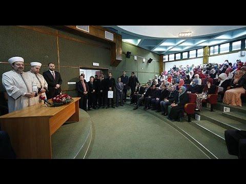 Diyanet İşleri Başkanı Görmez, Karadağ'da Mehmet Fatih Medresesini ziyaret etti