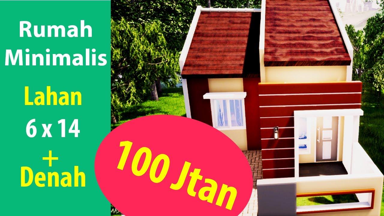 Desain Rumah Minimalis Ukuran 7 X 11 M2 dengan Interior ...