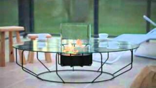 Furniture Review: Fire Coffee Contemporary Coffee Table By Planika Fires