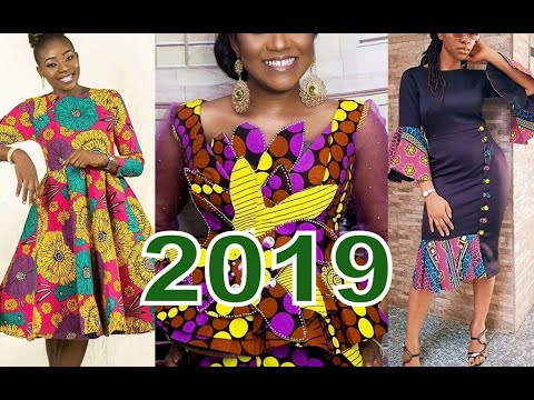 African Ankara Styles for Ladies 2019  With Aso Ebi To Rock This Lovely Month