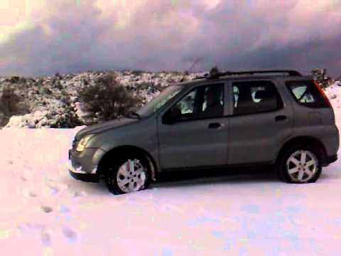 suzuki ignis 4x4 snow alonissos mp4 youtube. Black Bedroom Furniture Sets. Home Design Ideas