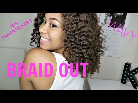 how to get a good braid out