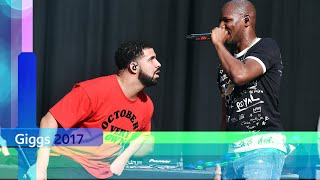 Giggs - KMT feat. Drake (Reading and Leeds 2017)