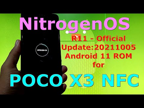 NitrogenOS OFFICIAL for Poco X3 NFC (Surya) Android 11 Update:20211005