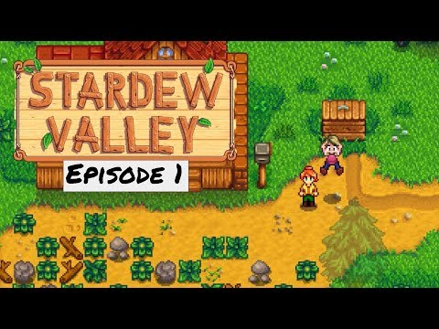 I AM NOT A VOICE ACTOR | Stardew Valley: Episode 1