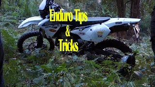 How To Cross A Fence   Enduro Tips & Tricks By Supermoto Punks