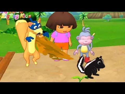 Dora A Exploradora | English Adventure Learning | Episode 9 Up & Down | ZigZag
