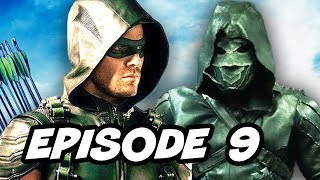 Arrow Season 5 Episode 9 Oliver vs Prometheus TOP 10 and Easter Eggs
