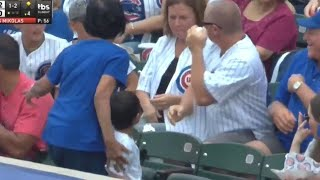 The Truth Behind the Grown Man Snatching a Baseball at Chicago Cubs Game