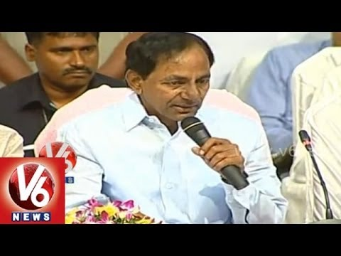 KCR Vision on Telangana - Full Speech - Meeting with district officials