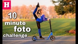 10 МИНУТ ФОТО ЧЕЛЛЕНДЖ / 10 Minute Photo Challenge ft. Inna Darda