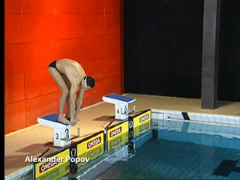 Техника плавания кролем ( Swimming Technique Freestyle) Александр Попов
