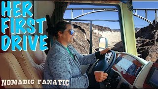 Angela Drives ~ Hoover Dam & Lake Mead Camping