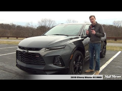 Review: 2019 Chevy Blazer RS AWD
