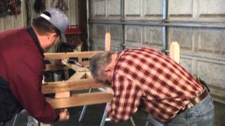 Country Ways - Building A Bobsled
