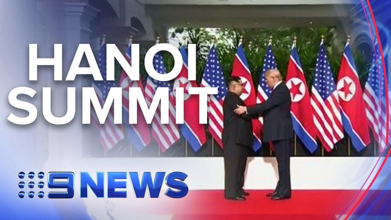 Vietnam prepares to host second Trump-Kim summit | Nine News Australia