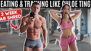 Bodybuilder tries the Chloe Ting 2 Week Ab Shred & Diet