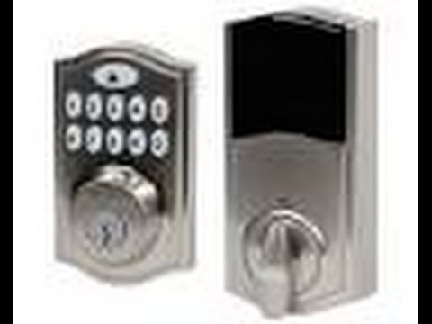 Electronic Kwikset Deadbolt Battery Change Youtube