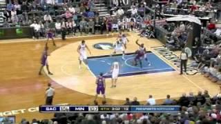 Sacramento Kings vs.Minnesota Timberwolves Full game highlight (27.10.10)