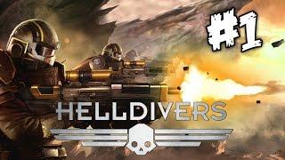 HELLDIVERS | PS4 Gameplay | Part 1 (1080p)