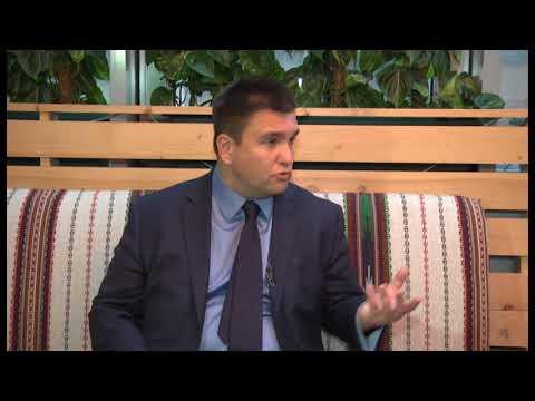 Актуальне інтерв'ю. Візит Міністра закордонних справ на Прикарпаття