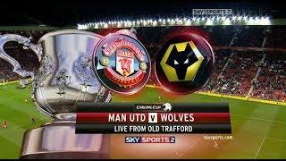 Манчестер Юнайтед Вулверхэмптон Прямая трансляция Кубок Англии на МАТЧ Футбол 1 в 22 45 по мск