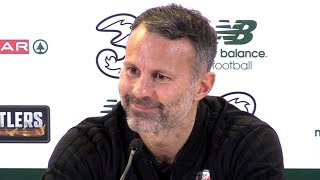 Ireland 0-1 Wales - Ryan Giggs Full Post Match Press Conference - UEFA Nations League