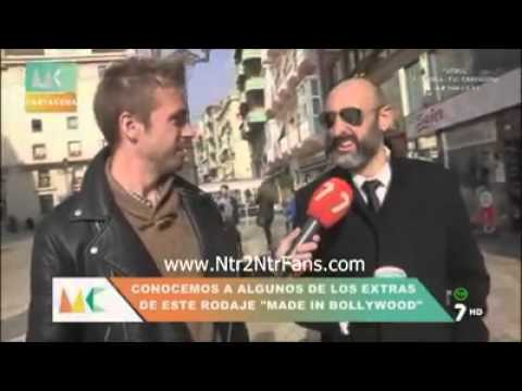 SPAIN NEWS Channel Interview with #NTR  Spain