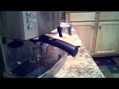 Delonghi EC702 Espresso bar demo