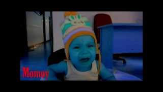 Baby Funniest Videos - When The Baby Alien Crying with Slow Motion !!