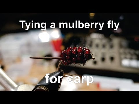 Tying A Mulberry Fly For Targeting Carp