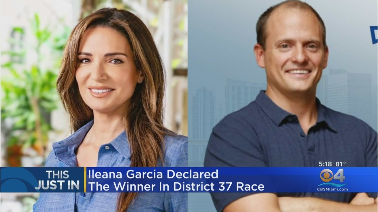 Republican Ileana Garcia Declared Winner In Race For State Senate District 37