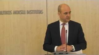 Swedish PM F.Reinfeldt on sustainable growth