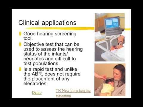 CDIS 4027 Hearing Assessment OAE And ABR