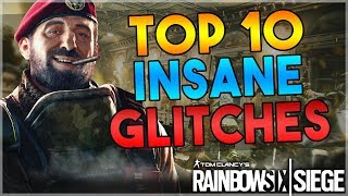TOP 10 BEST WORKING SOLO GLITCHES IN RAINBOW SIX SIEGE (AFTER PATCH)