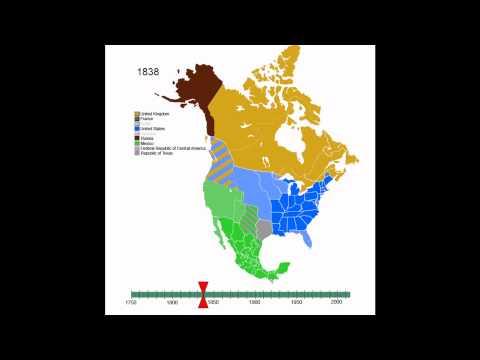 Animated History of North America