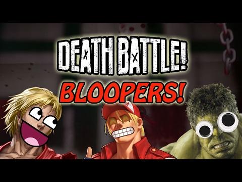 DEATH BATTLE Bloopers - Ken VS Terry & Hulk VS Doomsday
