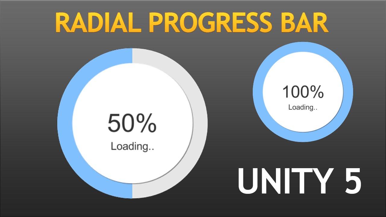Unity5 Radial Progress Bar Tutorial HD