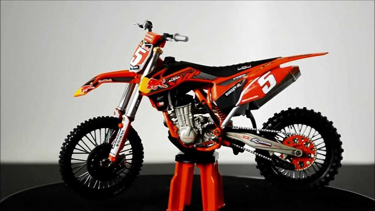Replica motocross bike model ktm ryan dungey 450 sx f 360 video youtube - Moto cross ktm a colorier ...
